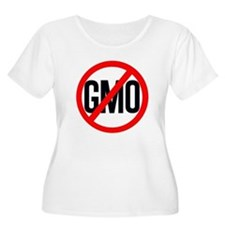 NO GMO Plus Size T-Shirt