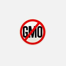 NO GMO Mini Button