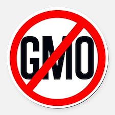 NO GMO Round Car Magnet