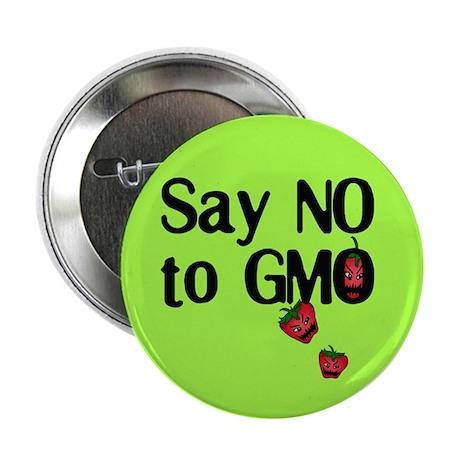 "Say NO to GMO 2.25"" Button"