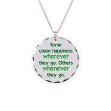 Causing Happiness Necklace