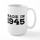 70th birthday Large Mugs (15 oz)