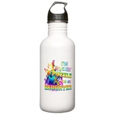 Im Rockin A Puzzle for my Daughter Water Bottle