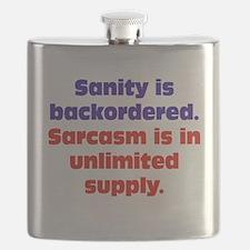 Sanity and Sarcasm Flask