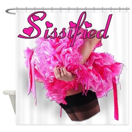 Sissified Shower Curtain