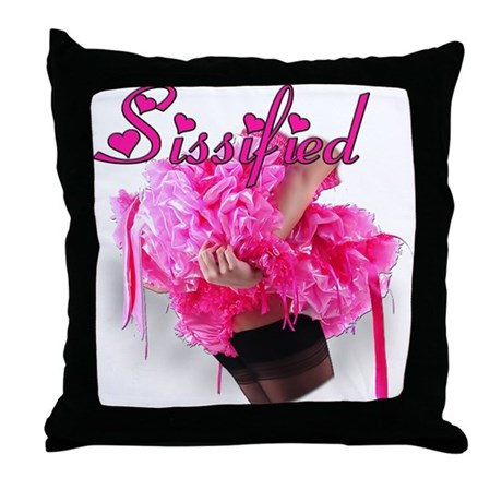 Sissified Throw Pillow