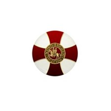 Templar cross and seal Mini Button (10 pack)