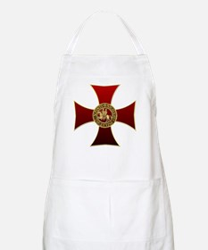 Templar cross and seal Apron