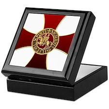 Templar cross and seal Keepsake Box
