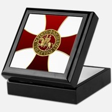 Templar cross and seal Keepsake Box