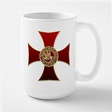 Templar cross and seal Mug