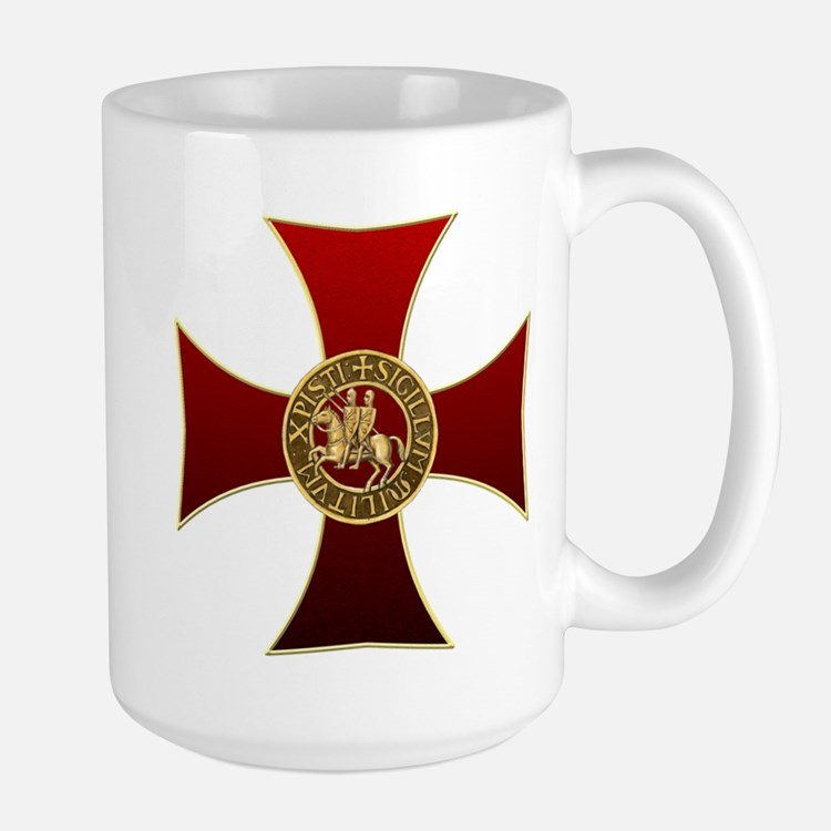 Templar cross and seal Mug