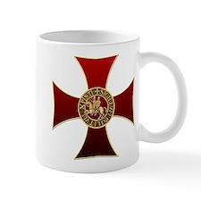Templar cross and seal Small Mug