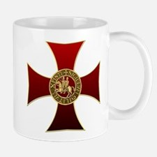 Templar cross and seal Small Mug