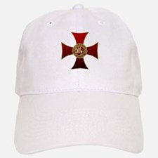 Templar cross and seal Baseball Baseball Cap