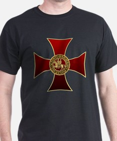 Templar cross and seal T-Shirt