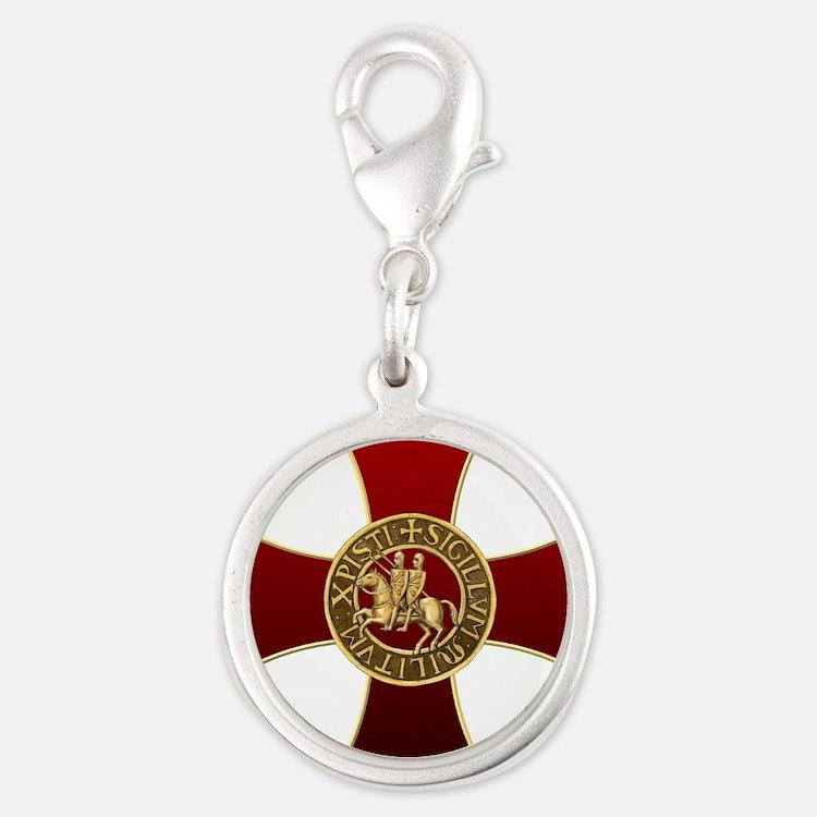 Templar cross and seal Charms