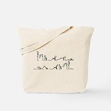Yoga Sun Exercises Tote Bag