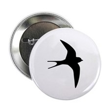 """Swallow bird 2.25"""" Button"""