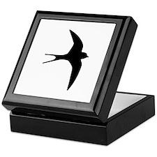 Swallow bird Keepsake Box