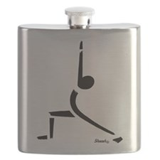 Yoga Warrior Pose Flask