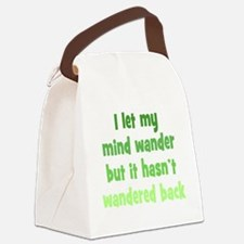 Wandering Mind Canvas Lunch Bag