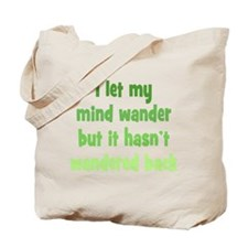 Wandering Mind Tote Bag