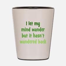Wandering Mind Shot Glass