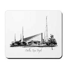 Dallas, Texas Temple Mousepad