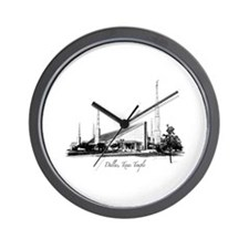 Dallas, Texas Temple Wall Clock
