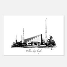 Dallas, Texas Temple Postcards (Package of 8)