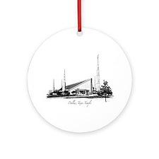 Dallas, Texas Temple Ornament (Round)