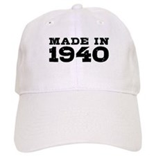 Made In 1940 Baseball Cap