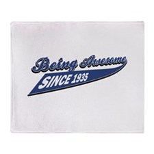 Awesome since 1935 Throw Blanket