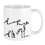 Yoga Small Mugs (11 oz)