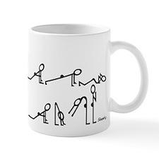Yoga Sun Exercises Small Mugs