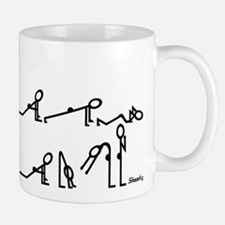 Yoga Sun Exercises Small Mugs