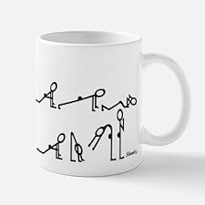 Yoga Sun Exercises Small Small Mug