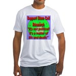 Support Stem Cell Research It Fitted T-Shirt