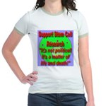 Support Stem Cell Research It Jr. Ringer T-Shirt