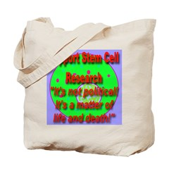 Support Stem Cell Research It Tote Bag