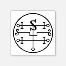 """Crowley seal Square Sticker 3"""" x 3"""""""