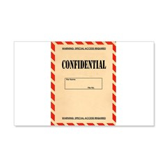 Confidential Wall Decal