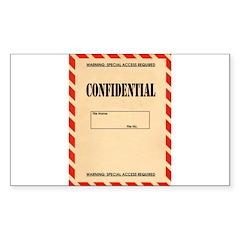 Confidential Decal