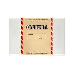 Confidential Rectangle Magnet
