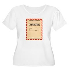 Confidential Plus Size T-Shirt