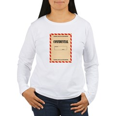 Confidential Long Sleeve T-Shirt