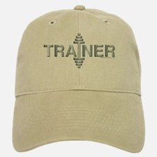 TRAINER -- Fit Metal Designs Baseball Baseball Cap