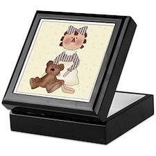 Raggedy Annie And Teddy Keepsake Box