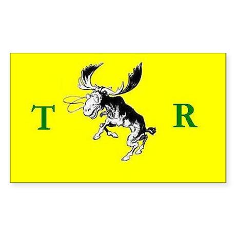 Theodore Roosevelt Campaign Sticker